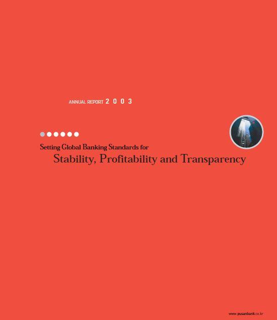 pusan bank 2003 Annual Report