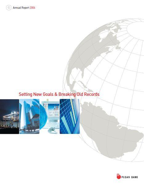 pusan bank 2004 Annual Report